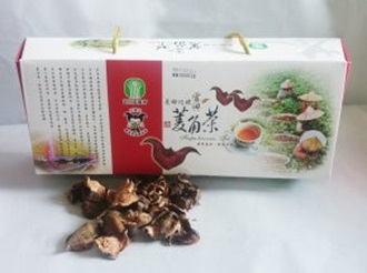 Guantian wetland companion agro-series: water chestnut tea bags.